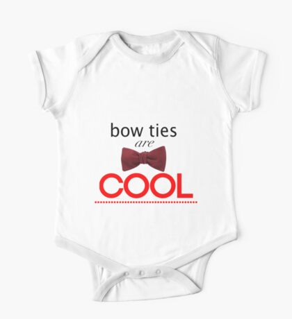 Doctor Who - Bow Ties Are Cool One Piece - Short Sleeve