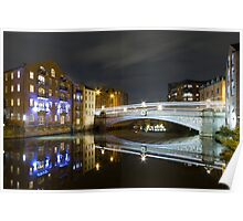 Riverside Reflections Poster