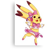 Pop Star PIkachu Canvas Print