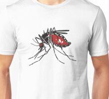 Blood-engorged mosquito Unisex T-Shirt