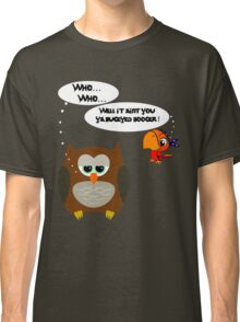 Owl and Petey the Pirate Classic T-Shirt