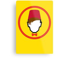 Man With Fez Metal Print