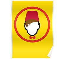 Man With Fez Poster