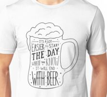 Beer is life Unisex T-Shirt