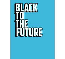 Black to the future Photographic Print