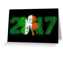 2017 St Patrick s Day Greeting Card