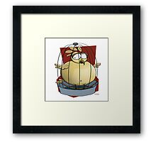 Fat Burd Framed Print