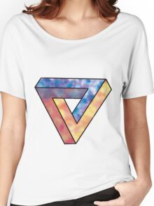 Penrose triangle Women's Relaxed Fit T-Shirt