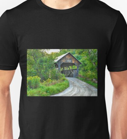 Coburn Covered Bridge Unisex T-Shirt