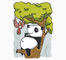 Panda Relax One Piece - Short Sleeve