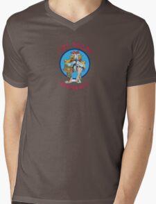 Los Pollos Hermanos Logo Mens V-Neck T-Shirt