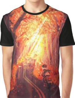 Autumn Ride Graphic T-Shirt