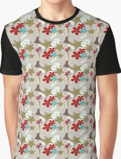 Eclectic Objects Pattern Graphic T-Shirt