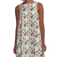 Eclectic Objects Pattern A-Line Dress