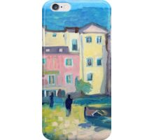 Laigueglia at night iPhone Case/Skin