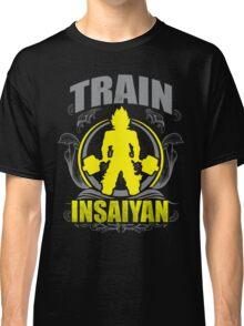 Train Insaiyan - Flowery Vintage Design Classic T-Shirt