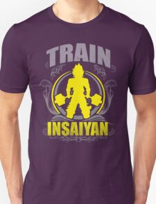 Train Insaiyan - Flowery Vintage Design Unisex T-Shirt
