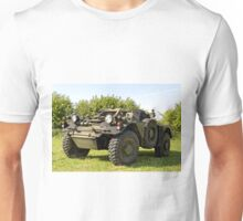 British Army Ferret Armoured Car  Unisex T-Shirt