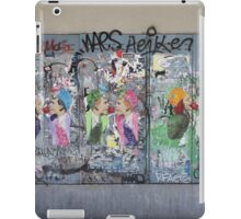 Art or vandalism iPad Case/Skin