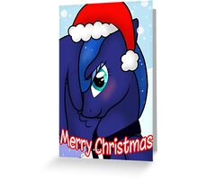 Princess Luna Christmas Card - Postcard My Little Pony Greeting Card