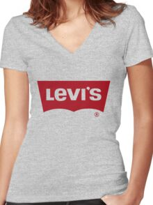 Levi's Women's Fitted V-Neck T-Shirt
