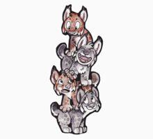 Lynx Pile Cartoon by djinni