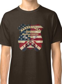 Bakersfield Country Music California   Classic T-Shirt