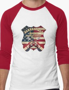 Bakersfield Country Music California   Men's Baseball ¾ T-Shirt