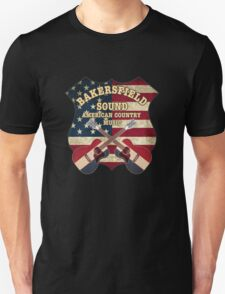 Bakersfield Country Music California   Unisex T-Shirt