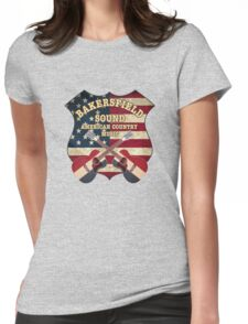 Bakersfield Country Music California   Womens Fitted T-Shirt