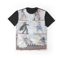 Swashbuckler Mural Graphic T-Shirt