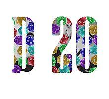 d20 Photographic Print