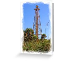 Historic Boca Light II  Greeting Card