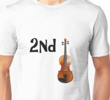 Idiom - second fiddle. Unisex T-Shirt