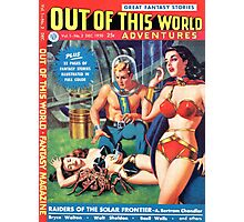 Out of this World Vol1 #2 1950 Golden Age Comic Cover Photographic Print