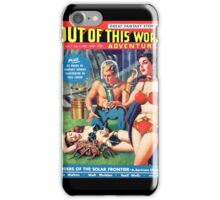 Out of this World Vol1 #2 1950 Golden Age Comic Cover iPhone Case/Skin