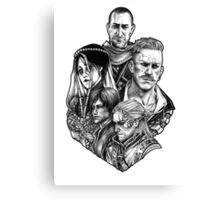 Witcher Wild Hunt Hearts of Stone Canvas Print