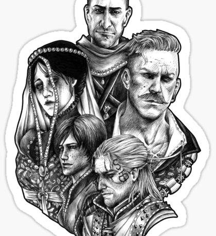Witcher Wild Hunt Hearts of Stone Sticker