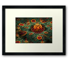 Micro Alien World Framed Print