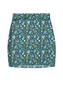 Bubble Beam Mini Skirt