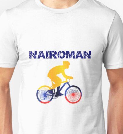 Nairoman Tour of Spain Nairo Colombian Cyclist Unisex T-Shirt