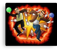 Epic Bowling Canvas Print