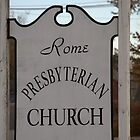 Church Sign, Holmes County, Ohio. by Billlee