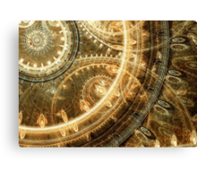 Steampunk watch Canvas Print