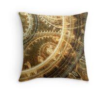 Steampunk watch Throw Pillow