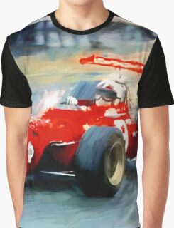Ferrari 312, 1968 FI  Graphic T-Shirt