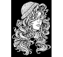 Curly Hair Photographic Print