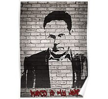 Person of Interest - Fusco is My Hero Graffiti style Poster