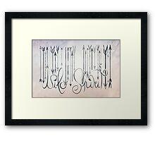Barcode Wild Spirit  Framed Print