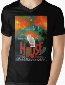 Hausu Mens V-Neck T-Shirt